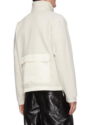Back View - Click To Enlarge - MACKAGE - Rex' Back Pocket Fleece Zip Up Jacket