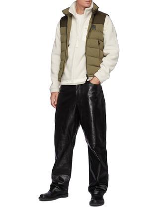 Figure View - Click To Enlarge - MACKAGE - Rex' Back Pocket Fleece Zip Up Jacket