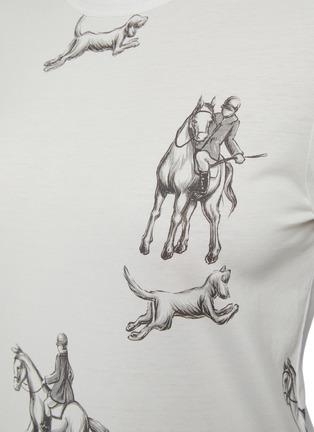 - 3.1 PHILLIP LIM - Hunting Print Long Sleeve T-Shirt