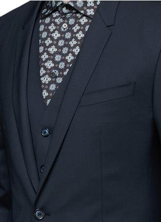 - Dolce & Gabbana - 'Gold' slim fit three piece suit