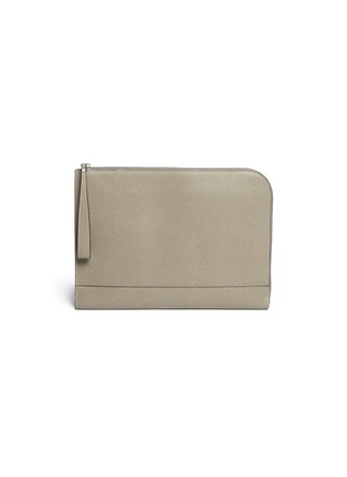 Main View - Click To Enlarge - Valextra - Leather document holder