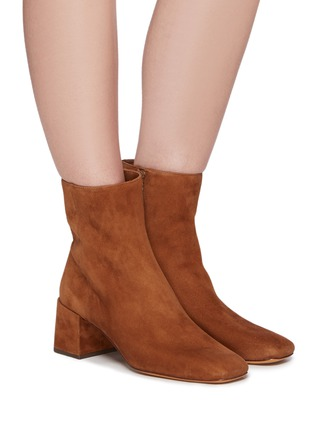 Figure View - Click To Enlarge - VINCE - Kaye' Suede Ankle Boots