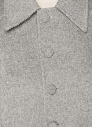 - SANS TITRE - Cover Button Detail Cropped Blazer
