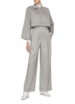 Figure View - Click To Enlarge - SANS TITRE - Cover Button Detail Cropped Blazer