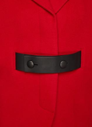 - SANS TITRE - Mid Length Wool Jacket
