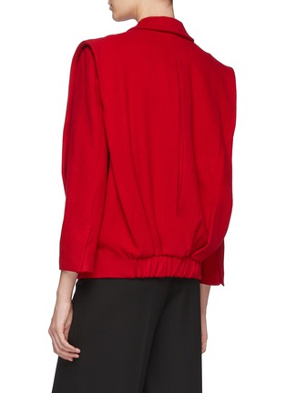 Back View - Click To Enlarge - SANS TITRE - Mid Length Wool Jacket