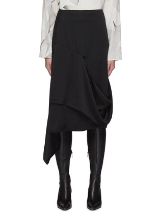 Main View - Click To Enlarge - LOW CLASSIC - Drape Layer Skirt