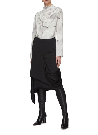 Figure View - Click To Enlarge - LOW CLASSIC - Drape Layer Skirt