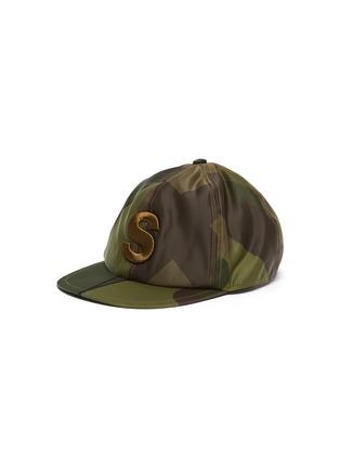 Main View - Click To Enlarge - SACAI - x KAWS Camouflage Print Flat Cap