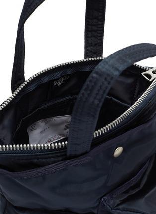 Detail View - Click To Enlarge - SACAI - x Porter Nylon Crossbody Pocket Bag