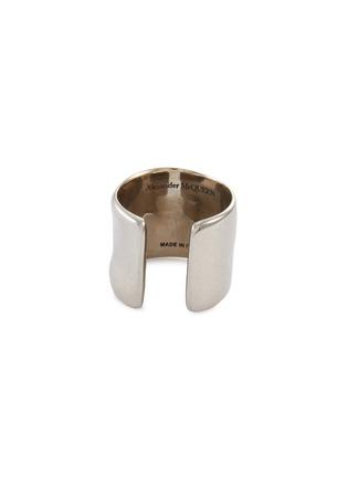Detail View - Click To Enlarge - ALEXANDER MCQUEEN - Mini Molten Brass Earcuff