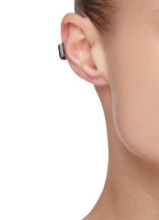 Figure View - Click To Enlarge - ALEXANDER MCQUEEN - Mini Molten Brass Earcuff
