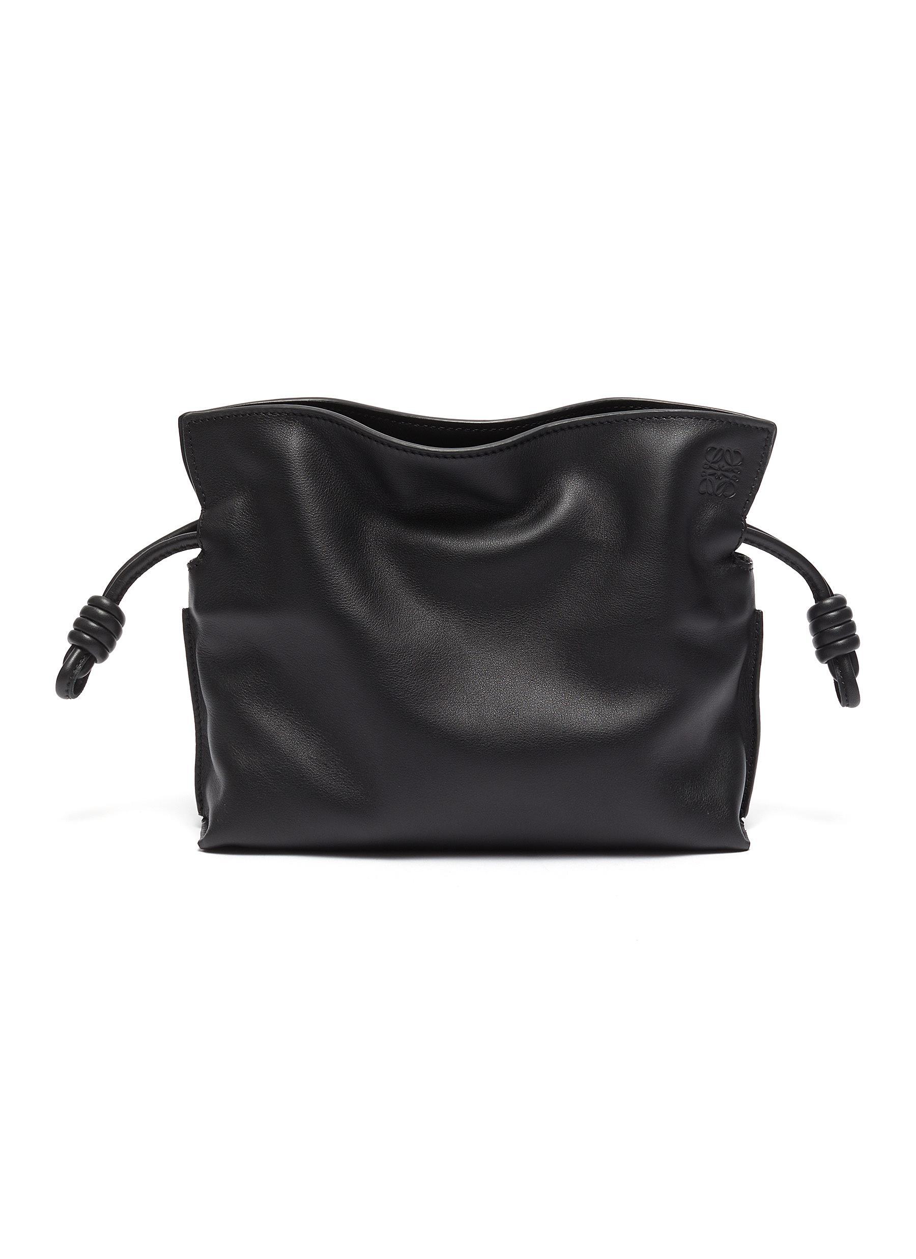 Flamenco' leather mini clutch