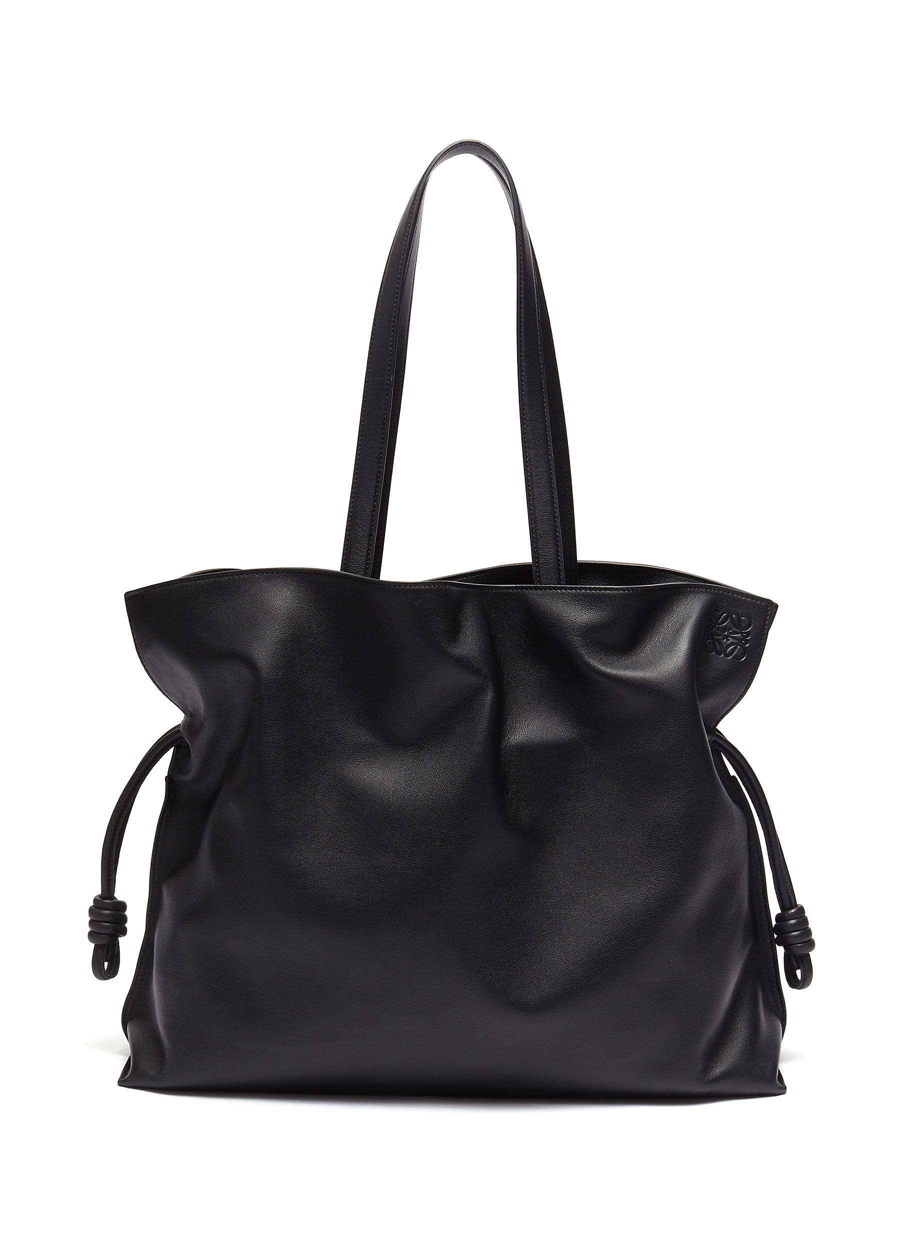 Flamenco XL' top handle leather bag