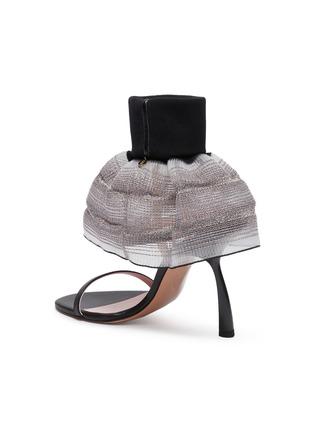 - PIFERI - Fantasia' Tulle Ankle Strap Vegan Leather Sandals