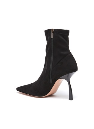 - PIFERI - Merlin' Stretch Suede Ankle Boots