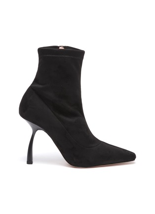 Main View - Click To Enlarge - PIFERI - Merlin' Stretch Suede Ankle Boots