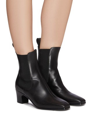 Figure View - Click To Enlarge - PIERRE HARDY - Calf Leather Melody Chelsea Boot