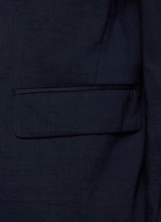 - THEORY - Clinton' Eco Crunch Linen Single Breasted Blazer