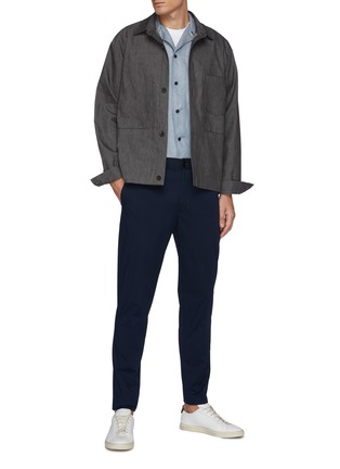 Figure View - Click To Enlarge - THEORY - Mayer' Poplin Pants