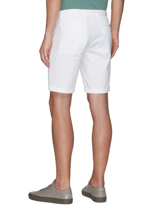 Back View - Click To Enlarge - THEORY - Zaine' Cotton Shorts