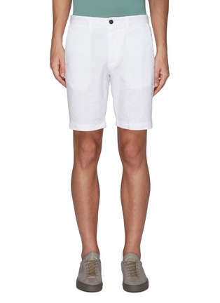 Main View - Click To Enlarge - THEORY - Zaine' Cotton Shorts