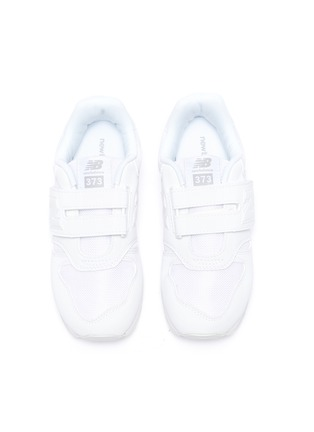 Figure View - Click To Enlarge - NEW BALANCE - 373' Logo Appliqué Velcro Strap Kids Sneakers