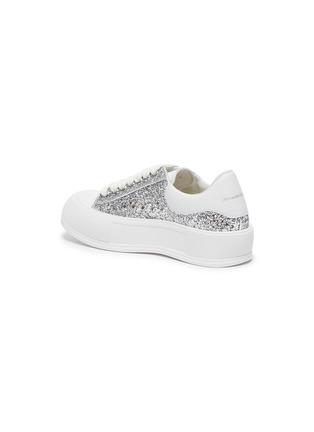- ALEXANDER MCQUEEN - Deck Plimsoll' Low Top Leather Sneakers