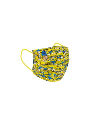 Detail View - Click To Enlarge - PRIVATE STOCK LABS - Petite Protective Face Mask Pack of 10 — Minions Yellow