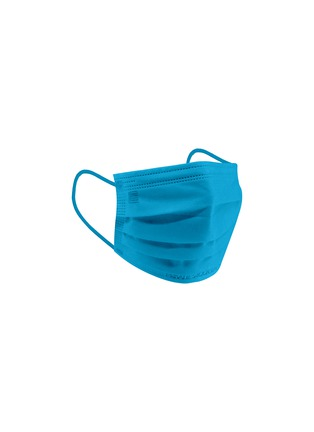 Detail View - Click To Enlarge - PRIVATE STOCK LABS - Protective Face Mask Pack of 10 — Neon Blue