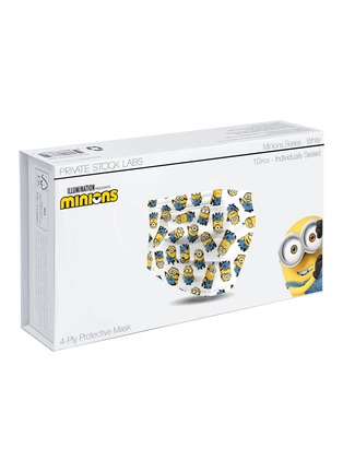 Main View - Click To Enlarge - PRIVATE STOCK LABS - Protective Face Mask Pack of 10 – Minions White