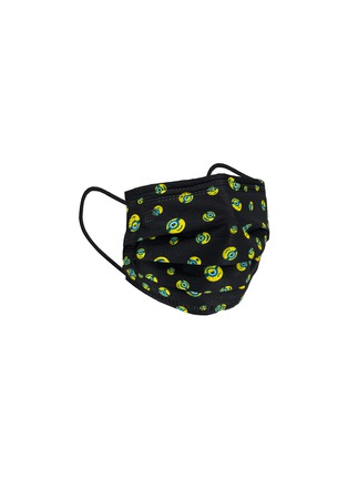 Detail View - Click To Enlarge - PRIVATE STOCK LABS - Protective Face Mask Pack of 10 – Minions Black