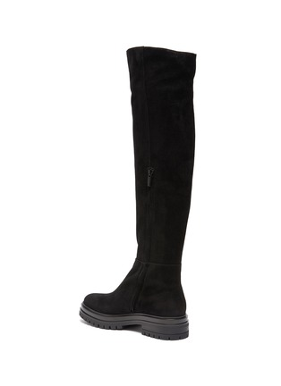 - GIANVITO ROSSI - Quinn' Over-the-knee Suede Leather Boots