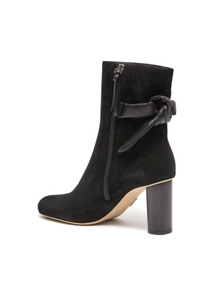 Detail View - Click To Enlarge - RODO - Knot 85 Bootie In Suede