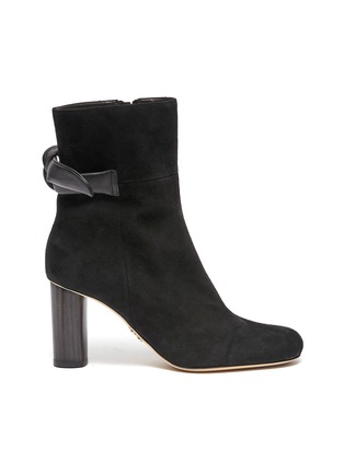 Main View - Click To Enlarge - RODO - Knot 85 Bootie In Suede