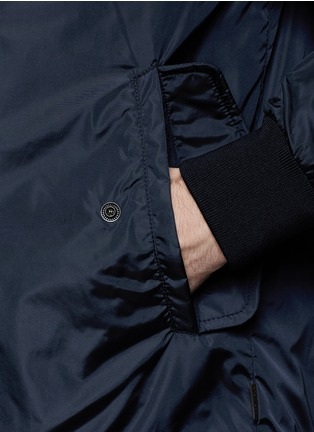 Detail View - Click To Enlarge - Moncler - 'Hernest' reversible down jacket