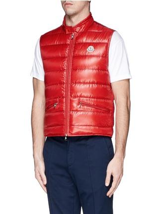Front View - Click To Enlarge - Moncler - 'Gui' down vest