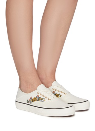 Figure View - Click To Enlarge - VANS - AUTHENTIC SF' FLORAL LOW TOP LACE UP SNEAKERS