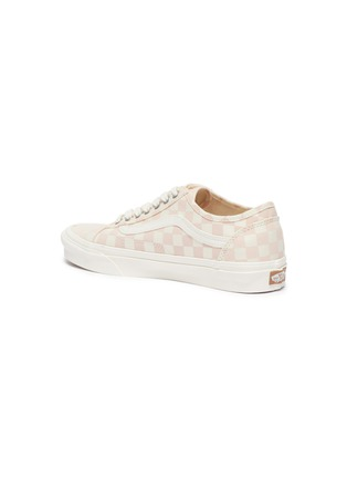 - VANS - Checkered Print 'Old Skool Tapered' Low Top Lace Up Sneaker