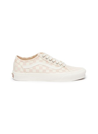 Main View - Click To Enlarge - VANS - Checkered Print 'Old Skool Tapered' Low Top Lace Up Sneaker