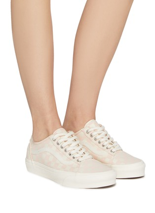 Figure View - Click To Enlarge - VANS - Checkered Print 'Old Skool Tapered' Low Top Lace Up Sneaker