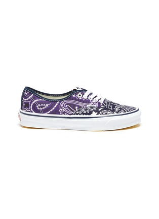 Main View - Click To Enlarge - VANS - OG Authentic LX' Bandana Print Low Top Lace Up Sneaker