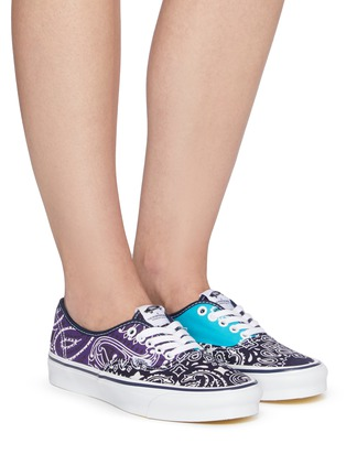 Figure View - Click To Enlarge - VANS - OG Authentic LX' Bandana Print Low Top Lace Up Sneaker