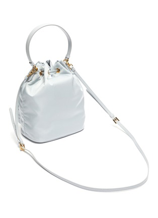 Detail View - Click To Enlarge - PRADA - Duet Re-Nylon Bucket Shoulder Bag