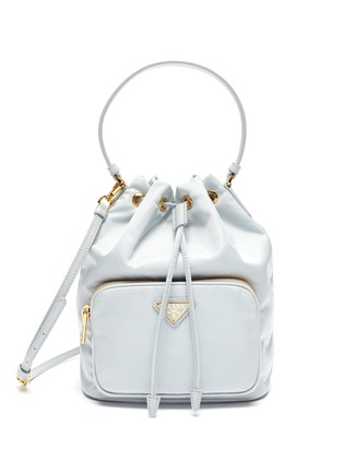 Main View - Click To Enlarge - PRADA - Duet Re-Nylon Bucket Shoulder Bag