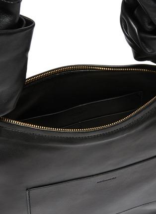 Detail View - Click To Enlarge - JIL SANDER - Twist Leather Shoulder Bag