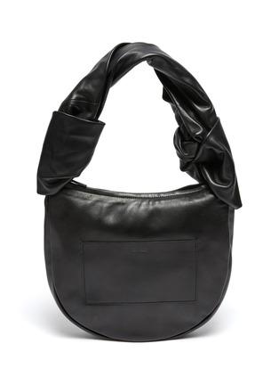 Main View - Click To Enlarge - JIL SANDER - Twist Leather Shoulder Bag
