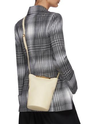 Figure View - Click To Enlarge - KHAITE - Etta' Crossbody Leather Bag