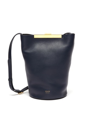 Main View - Click To Enlarge - KHAITE - Etta' Crossbody Leather Bag
