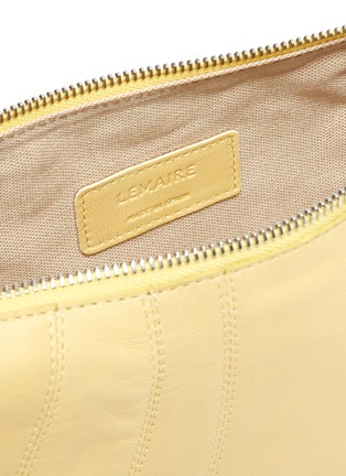 Detail View - Click To Enlarge - LEMAIRE - Small Croissant Leather Bag